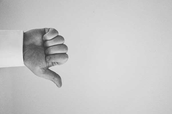 Thumbs Down-side